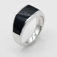 2019 925 sterling silver ladies Epoxy Turkish style retro ring neutral men's fashion jewelry listing