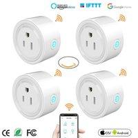 Mini US Wifi Plug Smart Timing Socket Wireless Outlet Voice Control Smart Sockets Work with Alexa Google Home Tuya APP