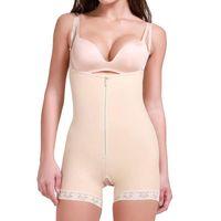 Women's Shapers Women Shapewear Tummy Control Fajas Colombianas Zipper & Hooks Open Bust Bodysuit Slimmer Full Body Shaper Waist Trainer Cor