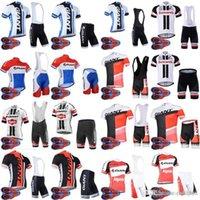 Оптовая гигантская команда велосипеда короткими рукавами Джерси (Bib) шорты наборы летние ROPA Ciclismo Hombre Sport MTB велосипедная одежда D1626