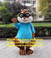 Kahverengi Peluş Sincap Chipmack Chippy Eutamias Maskot Kostüm Yetişkin Karikatür Karakter Butik Mevcut Grand Açılış ZX2910