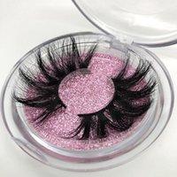 False Eyelashes Buzzme Package 25mm Lashes Dramatic Extra Long 3D Real Eyelash Custom Logo Makeup Beauty Eye Lash