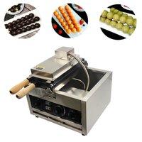 220V Ball Ball Waffle Maker Takoyaki Máquina de hornear eléctrica PANTENERA COMERCIAL HUEBO Fabricante de huevos Snacks Equipo