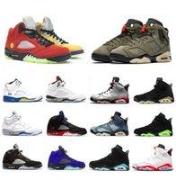 Hangi 5 Kaktüs Jack 6 Erkekler Basketbol Ayakkabıları Hiper Kraliyet 5S Orta Zeytin Tavşan 6 S Kızılötesi Top 3 Erkek Eğitmenler Spor Sneakers