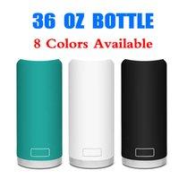 Moda Marka 36 OZ Su Şişeleri Mutfak-Sınıf Paslanmaz Çelik Drinkware Isı Yalıtım Tumblers Kupalar2026