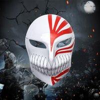 Animazione della maschera di Halloween, horror, maschera leggera, maschera di kurosaki ichigo, maschera fantasma, maschera di morte