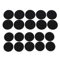 Nieuwe thuiskeuken sundries zelfklevende rubberen mat voor 15/20/30 oz kan aan de onderkant van glas beschermen tegen slip