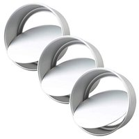 Pack 8-Inch Aluminum Round Cake Pan With Removable Bottom,Round Mold Baking Supplies & Pastry Tools