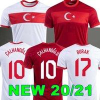 2020 2021 Türkiye Futbol Forması Arda Inan Tosun Tufan Erkin Malli Topa Calhanoğlu Oztekin Özel Ev Kırmızı Futbol Gömlek Üniforma 20 21