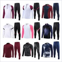 2021 Football Tracksuits Kits Football Former Travaille Real Madrid Hazard Mbappe Suite de pied Benzema Vestes Hot Silva Ramos