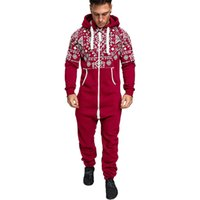 Autumn Mens Designer Hooded Tracksuits Fashion Sports Loose Mens One Pieces Sets Running Digital Printed Mens Suits