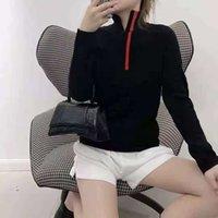 女性のセーター長袖ウールのニットティートップスイドーシッピング首の女性スリムセーターシャツシャツ春秋の暖かい外装スタイルサイズs-l