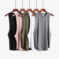 Men's Tank Tops Men Sportwear Undershirt Fashion Vest Fitness Clothing Blank Sleeveless Shirt Mens Gym Stringer Top Bodybuilding Tanktop