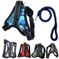 Pet supplies dog traction rope medium and large size explosion proof punching chest strap chain