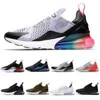 270 2021 وسادة الرياضة الأزياء والأحذية الطريق الثلاثي الأبيض للرجال النساء أحذية رياضية رياضة عارضة الحجم 36-45