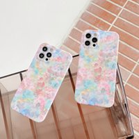 Beautiful floral phone cases for iphone 13 pro max 12 11 X XR XS 7 8 plus SE case cover