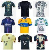 21 22 Mexico Club America Soccer Jerseys Leon Third Away الصفحة الرئيسية 2021 2022 Camisetas Tigres Unam Chivas Cruz Azul 3rd Liga Max Training Shirts Mailleot De Foot
