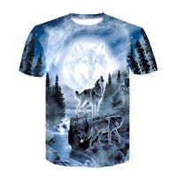 3D Dog Printed T Shirt Men Women Hip Hop Summer Funnyt Cat Streetwear Tshirt Short Sleeve Tops Casual O-Neck Animal CBT-313