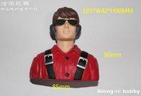2pcs RC Hobby Accessory 1 6 Scale Plastic L75*W36*H66mm Female Pilot or L85*W42*H90mm Man Pilot for Model Airplane Part