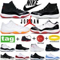 Air Jordan Mode Nike Haute 25e Anniversaire Bred Basketball Chaussures Blanc Concord 45 Légende Bleu Space Jam Platinum Tint Sneakers Femmes Courant des formateurs