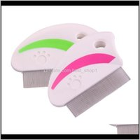 Grooming Dog Pet Supplies Home & Gardencompact Ultra-Fine Flea Pets Dogs Cats Comb Metal Teeth Healthy Fur Hair Removal Shedding Cleaning Br