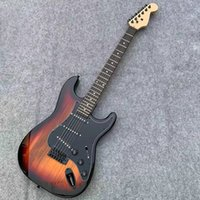 New Arrival 6 Strings Tobacco Sunburst Electric Guitar with Floyd Rose,Rosewood Fretboard