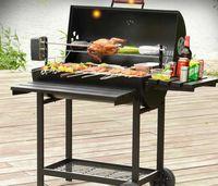 2021 Grillades de charbon de bois Barbecue en plein air de grande famille américaine pour plus de 5 personnes