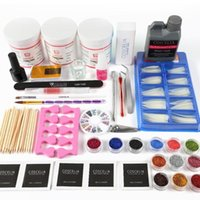 120g Acrylic Powder 120ml Liquid Pro Nail Kit Manicure Set Gel ALL For Brush Tips Art Tools Kits