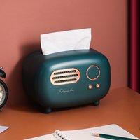 Креативная тканевая коробка гостиная свет роскошный бытовой столовая коробка дистанционного управления контроль для хранения журнала для журнала милая девушка рисунок