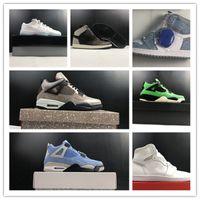 4s Университет синий 1с I SIDE BLUE LEGEND 11 Низкие Мужские Баскетбольные Обувь Спортивные кроссовки Тренеры Высочайшее Качество Размер 7-13