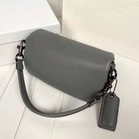 Diseñador actualizado C 'almohada Tabby Bolsa de hombro Calidad Mujeres Pure Color Baquetas Bolsos Retro Hardware Nublado Bolsos Supper Soft Real Cuero