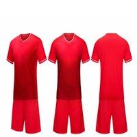 Men's Tracksuits Kids Soccer Jersey Set 2021Adult Tracksuit Men Training Suit Short Sport Kit Uniform Print