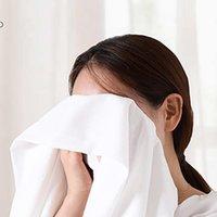 Handtuch 6 teile / paket erweiterbar el make-up remover komprimiert nicht gewebtstoff mini hautfreundlich wasserabsorbierend tragbarer reisen