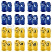 2021 All-Star-Trikots genäht 30 Curry 2 Leonard 7 Durant 34 AntetokounMPO 13 Harden 11 Irving 77 Doncic Jersey