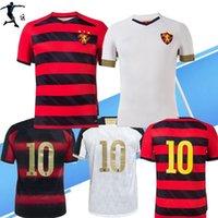 S-3XL 2021 2022 Spor Recife Doğum Günü Ev Kızılderili Futbol Formaları Brezilya Spor Kulübü Beyaz Yıldönümü 21 22 Futbol Gömlek
