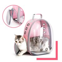 Transportadoras de gato, casas casas portador sacos respirável Pet transportadoras pequenas mochila de cão viagem espaço de gaiola saco de transporte carregando para ca
