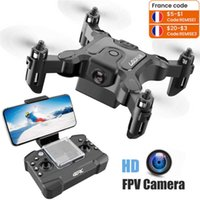 Mini Drone Met Zonder Hd Camera Follow Me Rc Helicopter Hight Hold Modus Rc Quadcopter Rtf Wifi Fpv RC Drone Toys For Kids 210915
