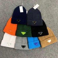 Hot Selling Hiver Hommes Bonnet Femmes Soupes à tricoter Patchwork Head Cover Cap Cap Capuche en plein air Coton Tricoté Coton Chapeaux de crâne chaud