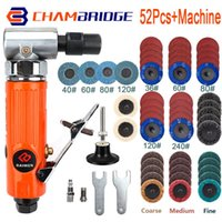 Pneumatic Tools Micro Air Angle Die Grinder 90 Degree Grinding Polisher With 2inch Disc Power Engraving Kits