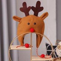 Party Hats, дружественные для кожи Санта-Клаус Матовый Длинные веревочки Топпер взрослых детей Декоративные декоративные Шляпа Легкий для рождественского моря Корабль OWE9763