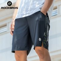 ROCKBROS Cycling Shorts Running Clothing Exercise Gym Short Jogging Fitness Breathable Bicycle Outdoor Sports Jersey