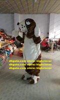 Коричневый бассет гончая собака кокер спаниель Beagle талисман костюм взрослый мультфильм персонаж пешеходная улица ежегодный симпозиум ZX1477