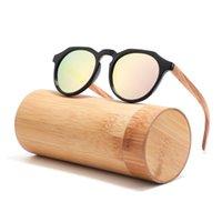 2021 Hot Selling Sun Glass Wholale Bamboo Sunglass UV400