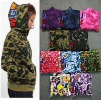 2021 Europeia americana moda camisola impressão hoodie camuflagem Cardigan clássico outono e inverno fino pelúcia homens casaco das mulheres moletom