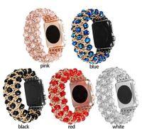 Für Apple Watchband 44mm 42mm 38mm 40mmjewelry Strap stilvolle Luxuskette Ersatzarmband