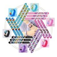 US Stock MOC Dots Armband DIY Craft Building Blocks Hembakat hantverk Ställer Kreativa Smycken Leksaker För Barnflickor Barn Födelsedagspresent