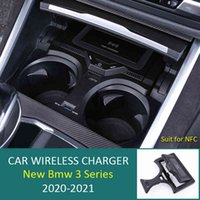 For BMW 3  4 Series G20 G28 G22 With NFC Card Key Car Wireless Charger Fast Phone Charging Plate Accessories 2020 2021