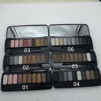 Palette de maquillage de maquillage classique Chaleur Cherry Ultraviolet Honey 10Colors Mélanger Nu Wyeshadow de haute qualité