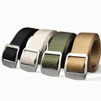 3. 8cm Width Hunting Belt With Titanium Buckle Tactical Waist...