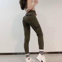 Women's Pants High Waist Sweatpants Korean Streetwear Joggers Women Harajuku Yoga Trousers Pantalon Femme WPY634 & Capris